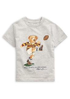 Ralph Lauren Childrenswear Little Boy's Rugby Bear Cotton Jersey Tee