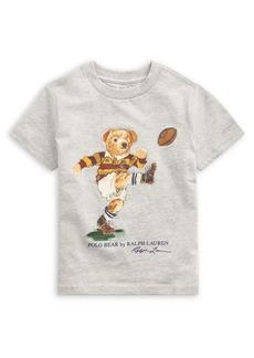 Ralph Lauren Childrenswear Little Boy's Rugby Bear Cotton Tee