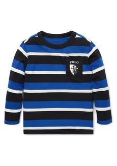 Ralph Lauren Childrenswear Little Boy's & Boy's Striped Cotton Tee