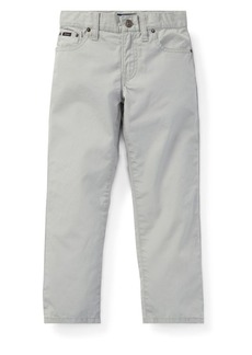 Ralph Lauren Childrenswear Little Boy's Slim-Fit Poplin Pants