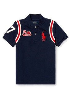 Ralph Lauren Childrenswear Little Boy's & Boy's Mesh Cotton Polo