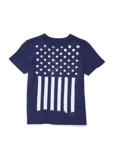 Ralph Lauren Childrenswear Little Boy's Stars & Stripes Cotton T-Shirt