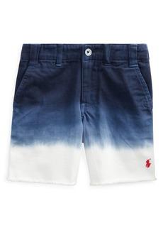 Ralph Lauren Childrenswear Little Boy's & Boy's Straight-Fit Dip-Dyed Cotton Chino Shorts