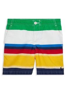 Ralph Lauren Childrenswear Little Boy's & Boy's Straight-Fit Cotton Shorts