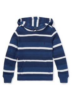 Ralph Lauren Childrenswear Little Boy's Striped Cotton Hoodie