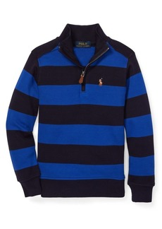 Ralph Lauren Childrenswear Little Boy's Striped Cotton Pullover