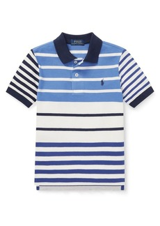 Ralph Lauren Childrenswear Little Boy's Striped Polo Shirt