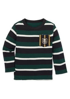 Ralph Lauren Childrenswear Little Boy's & Boy's Reversible Long-Sleeve Cotton Tee