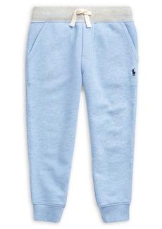 Ralph Lauren Childrenswear Little Boy's Twill Terry Jogger Pants