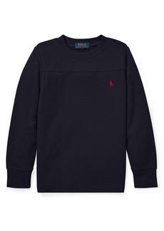 Ralph Lauren Childrenswear Little Boy's Waffle-Knit Sweater