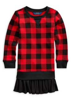Ralph Lauren Childrenswear Little Girl's French Terry Sweatshirt Dress