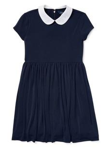 Ralph Lauren Childrenswear Girl's Peter Pan Collar Dress