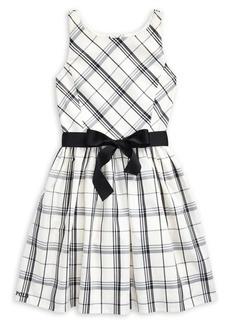 Ralph Lauren Childrenswear Girl's Plaid Taffeta Dress