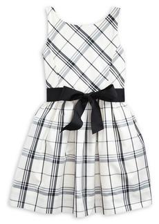 Ralph Lauren Childrenswear Little Girl's Plaid Fit & Flare Dress