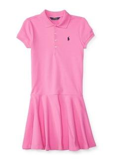 Ralph Lauren Childrenswear Girl's Short-Sleeve Polo Dress