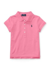 Ralph Lauren Childrenswear Little Girl's & Girl's Signature Mesh Polo