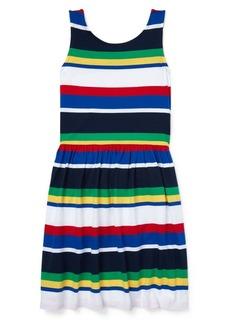 Ralph Lauren Childrenswear Little Girl's & Girl's Striped Cotton Jersey Dress