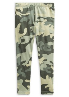 Ralph Lauren Childrenswear Little Girl's Camo Stretch Leggings