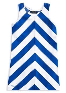 Ralph Lauren Childrenswear Little Girl's Chevron Ponte Dress