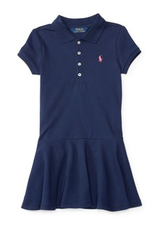 Ralph Lauren Childrenswear Little Girl's Cotton Blend Dress