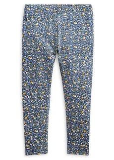 Ralph Lauren Childrenswear Little Girl's Floral Stretch Leggings