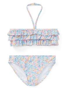 Ralph Lauren Childrenswear Little Girl's Floral Two-Piece Swimsuit