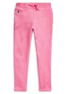 Ralph Lauren Childrenswear Little Girl's French Terry Leggings