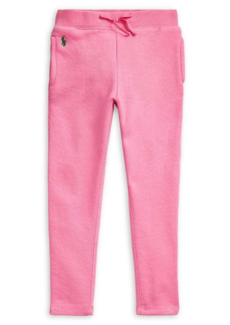 Ralph Lauren Childrenswear Little Girl's French Terry Leggings