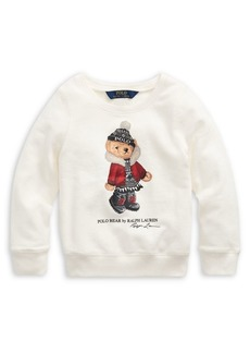 Ralph Lauren Childrenswear Little Girl's French Terry Pullover