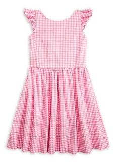 Ralph Lauren Childrenswear Little Girl's Gingham Fit-&-Flare Dress