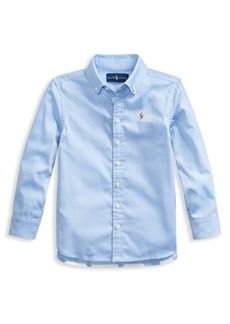 Ralph Lauren Childrenswear Little Girl's Pinpoint Chambray Oxford Tunic