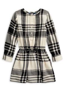 Ralph Lauren Childrenswear Little Girl's Plaid Cotton Poplin Fit-&-Flare Dress