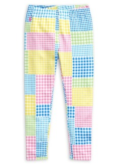 Ralph Lauren Childrenswear Little Girl's Printed Stretch Cotton Leggings