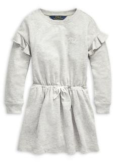 Ralph Lauren Childrenswear Little Girl's Ruffled French Terry Dress