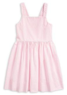 Ralph Lauren Childrenswear Little Girl's Seersucker Cotton Dress