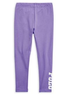 Ralph Lauren Childrenswear Little Girl's Stretch-Cotton Jersey Leggings