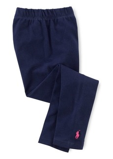Ralph Lauren Childrenswear Little Girl's Stretch Cotton Leggings