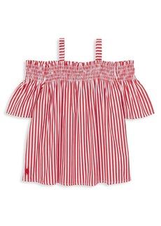 Ralph Lauren Childrenswear Little Girl's Striped Cotton Top