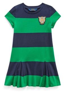 Ralph Lauren Childrenswear Little Girl's Striped Cotton A-Line Dress