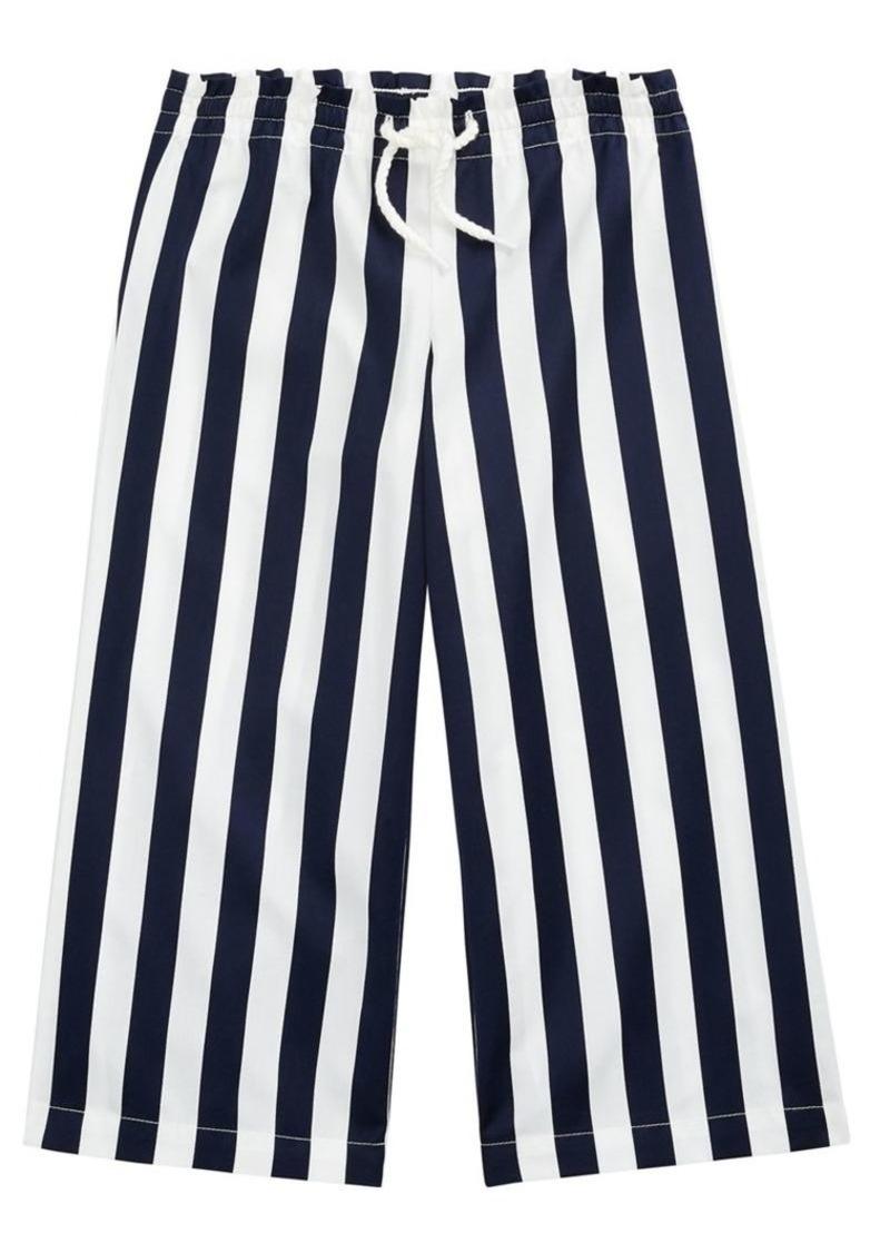 Ralph Lauren Childrenswear Little Girl's & Girl's Striped Cotton Dobby Pants