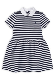 Ralph Lauren Childrenswear Little Girl's Striped Knit Dress