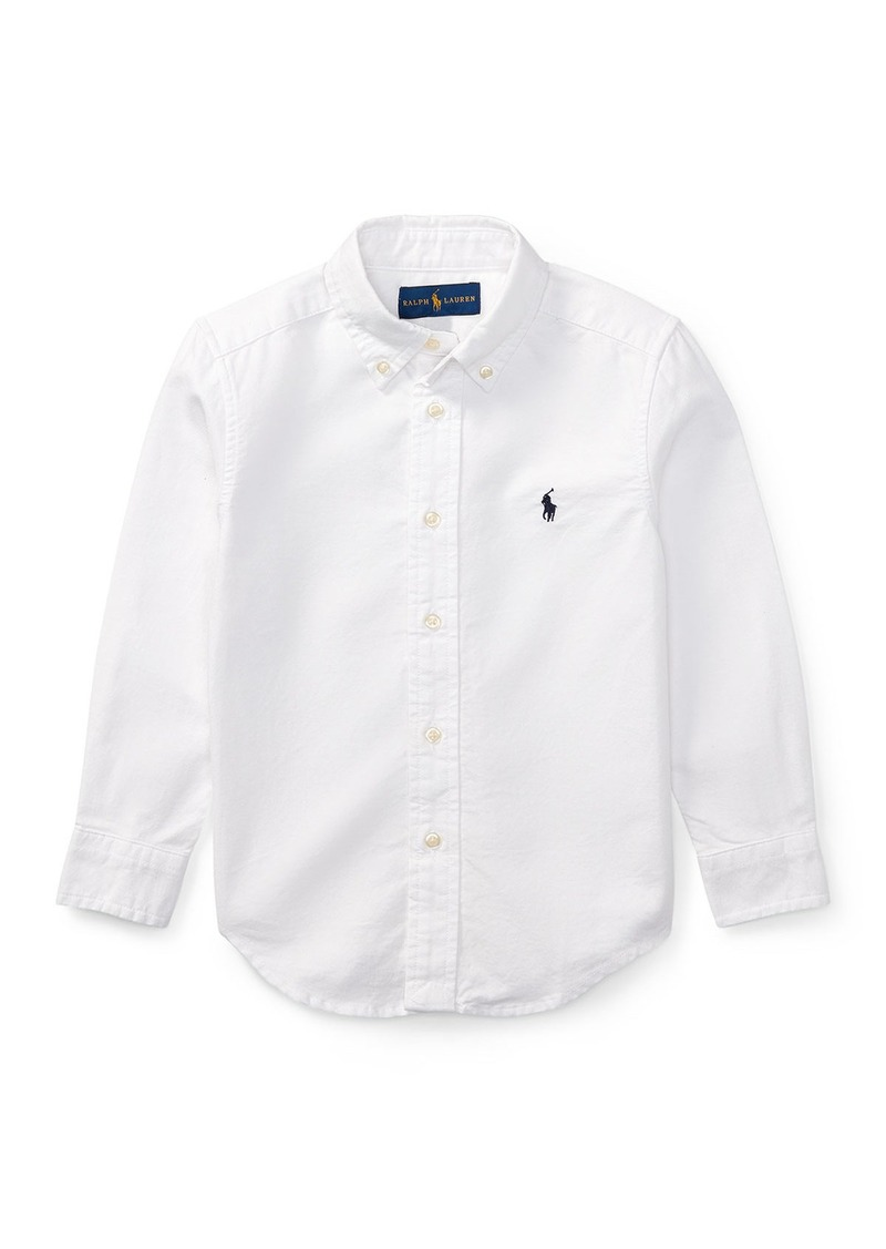 Ralph Lauren Childrenswear Oxford Sport Shirt  Size 4-7