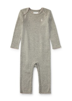 Ralph Lauren Childrenswear Pointelle Cotton Coverall