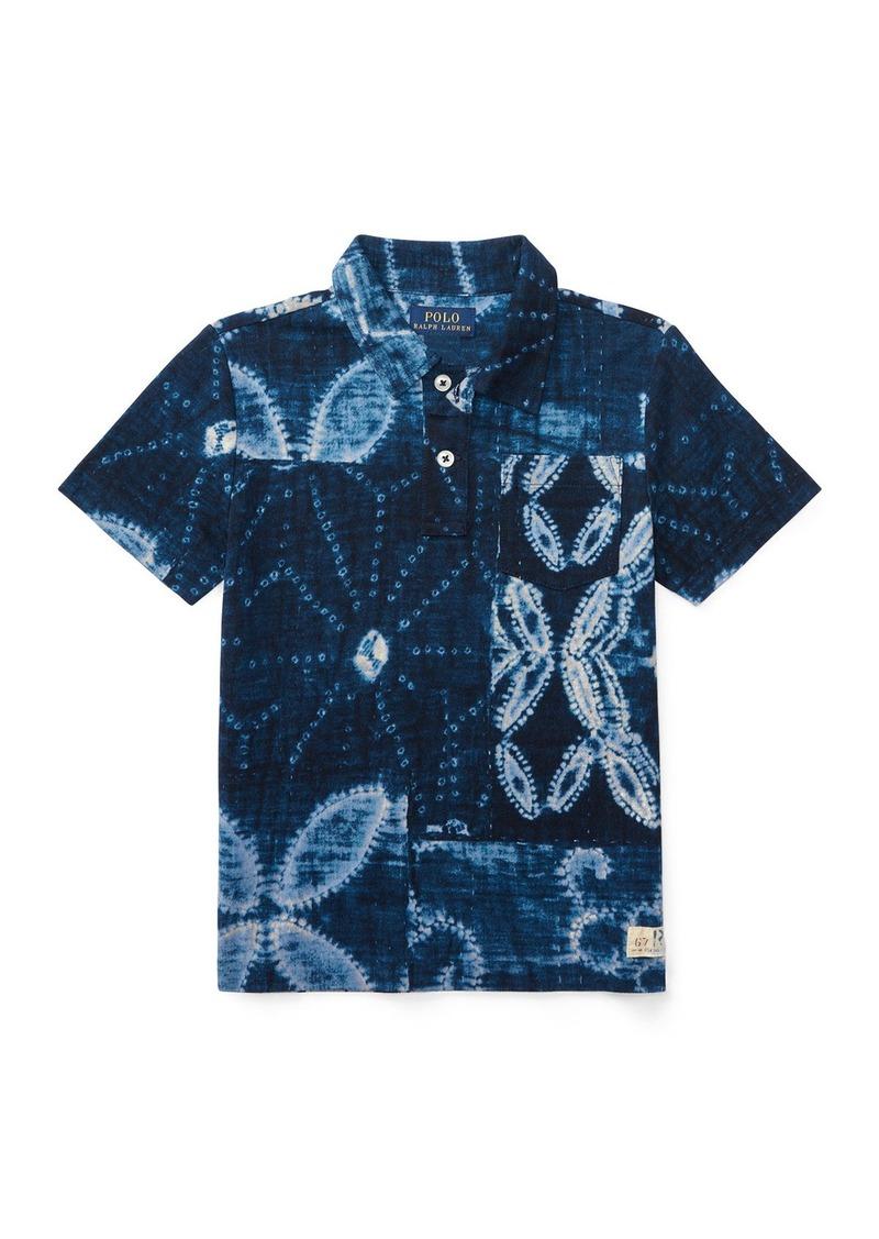 Ralph lauren ralph lauren childrenswear shibori jersey for Ralph lauren polo jersey shirt