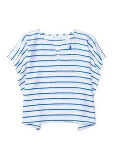 Ralph Lauren Childrenswear Striped Cotton Swim Coverup