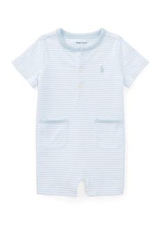 Ralph Lauren Childrenswear Striped Jersey Cotton Shortall