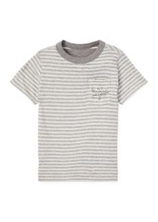 Ralph Lauren Childrenswear Striped Reversible Short-Sleeve Tee  Size 5-7