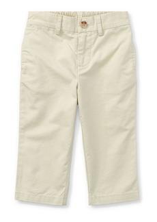 Ralph Lauren Childrenswear Suffield Straight-Leg Cotton Pants  Size 9-24 Months