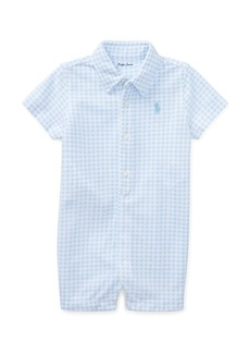 Ralph Lauren Childrenswear Tissue Mesh Gingham Shortall