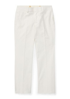 Ralph Lauren Woodsman Pleated Cotton-Blend Pants